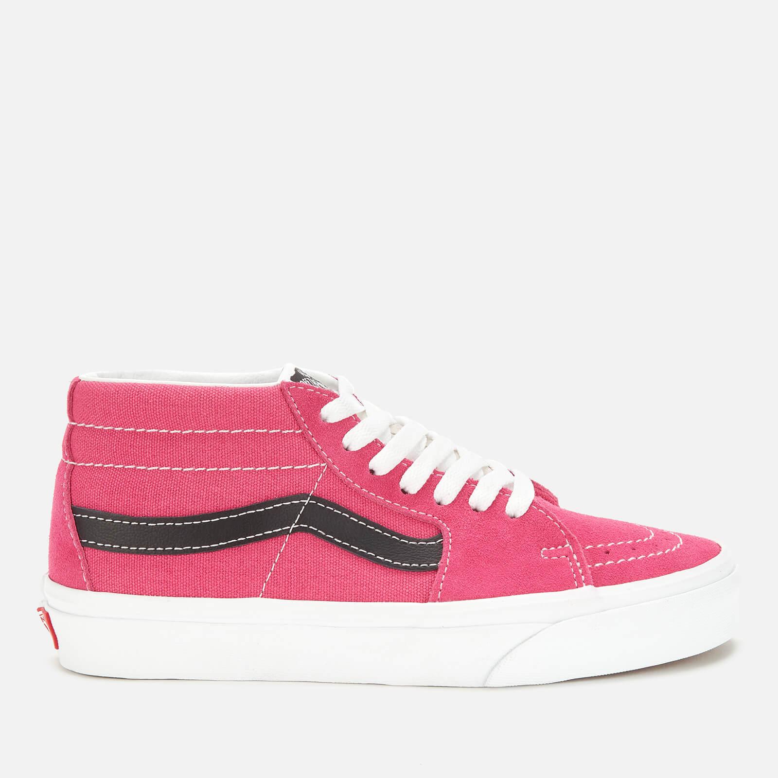 Vans 女士 Sk8-Mid 复古运动鞋