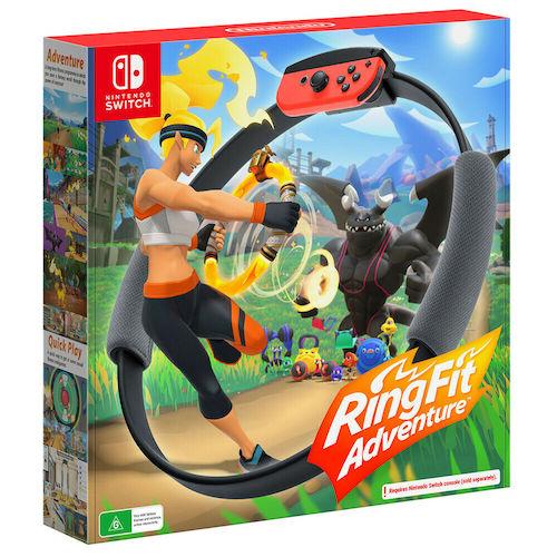 Nintendo 任天堂 Ring Fit Adventure 健身环大冒险 健身游戏 – 78折优惠!