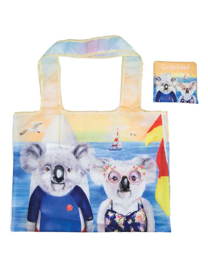 La La Land 考拉图案折叠购物袋