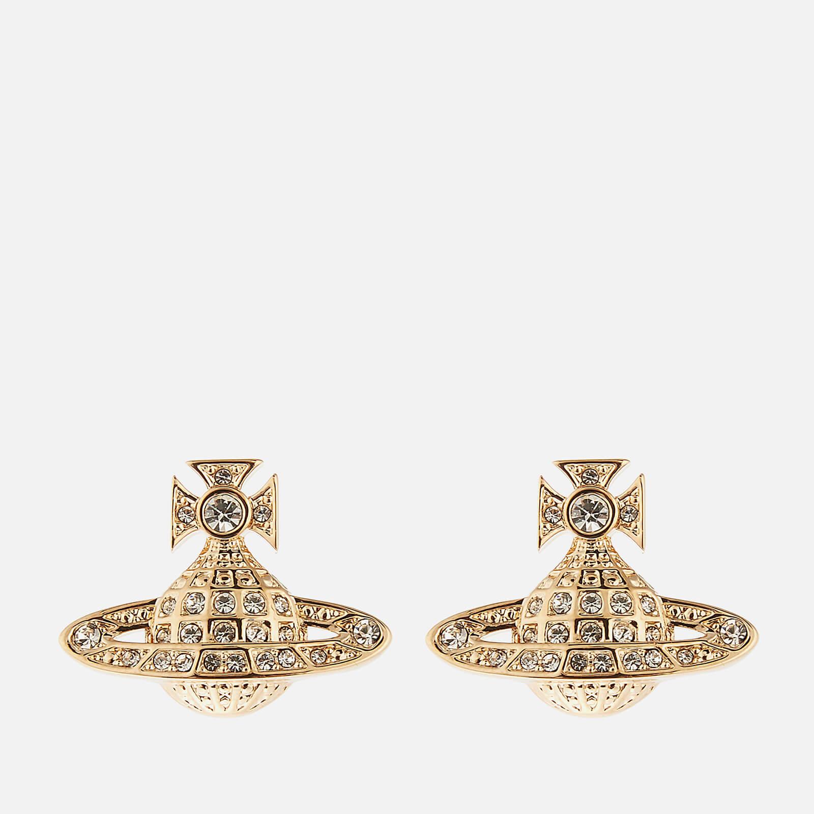 Vivienne Westwood Minnie Bas 浮雕耳环