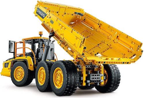LEGO 乐高 科技系列 Technic 6×6 沃尔沃绞链式自卸车 42114 – 7折优惠!