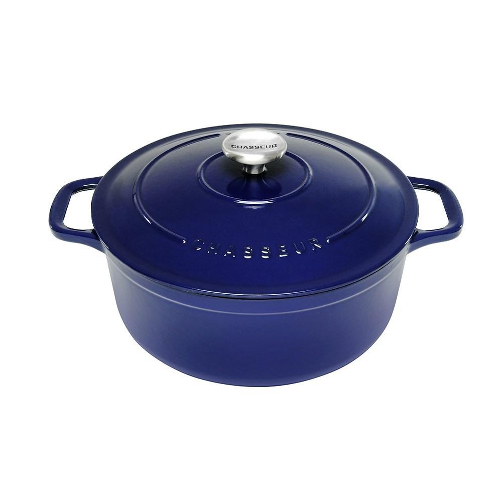 Chasseur 24cm / 3.8L 圆形铸铁锅