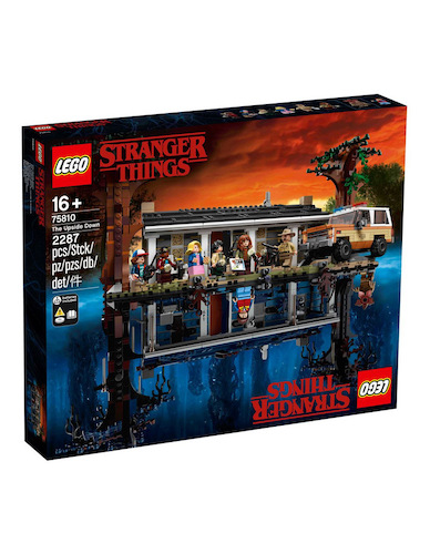 LEGO 乐高 75810 Stranger Things The Upside Down 怪奇物语系列 颠倒世界 – 8折优惠!