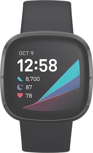 Fitbit Sense GPS智能运动手表 心率检测 – 9折优惠!