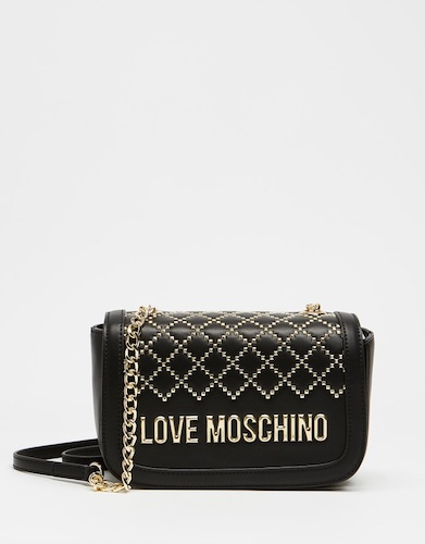 LOVE MOSCHINO Quilted Cross-Body 斜挎包 – 6折优惠!