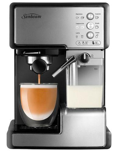 Sunbeam Cafe Barista EM5000 高颜值半自动咖啡机 – 低至5折优惠!