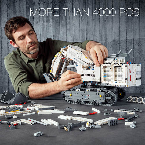 LEGO 乐高 Technic 机械系列 42100 Control+ Liebherr R 利勃海尔R 9800 挖掘机– 8折优惠!