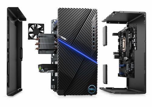 戴尔 Dell G5 5000 台式游戏主机(i7-10700F、16GB、1TB、RTX 3060 Ti)- 6折优惠!