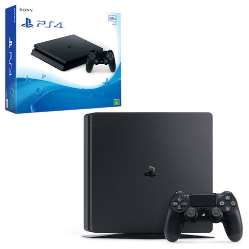 Sony 索尼 PlayStation 4 Slim 500GB 游戏主机 – 8折优惠!