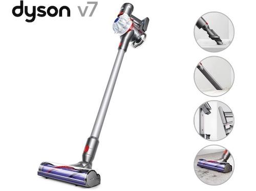 Dyson 戴森 V7 Cord-Free 手持式无线吸尘器 – 6折优惠!