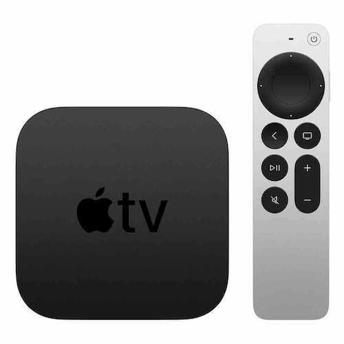 苹果 AppleTV 新款 4K 64G with Siri Remote – 8折优惠!
